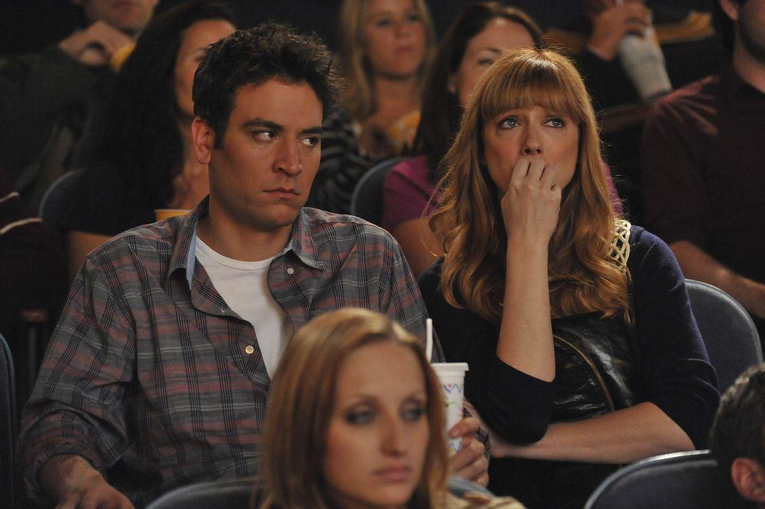 Ted (Josh Radnor, l.) glaubt, dass die Partnerwahr schwieriger wird, wenn man die 30 überschritten hat. Jeder hat da schon etwas Negatives erlebt u... - Bildquelle: 20th Century Fox International Television
