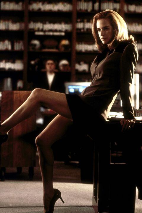 Obwohl selbst sehr viel versprechend, legt Avery (Kelly Preston) großen Wert auf die beruflichen Erfolge ihres Verlobten Jerry Maguire. Doch der st... - Bildquelle: TriStar Pictures