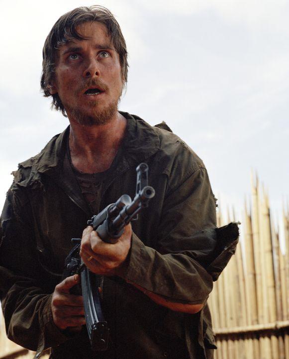 Dieters (Christian Bale) Flucht gelingt, doch dann entpuppt sich der Dschungel als eigentliches Gefängnis ? - Bildquelle: Lena Herzog 2006 Top Gun Productions, LLC. All Rights Reserved.