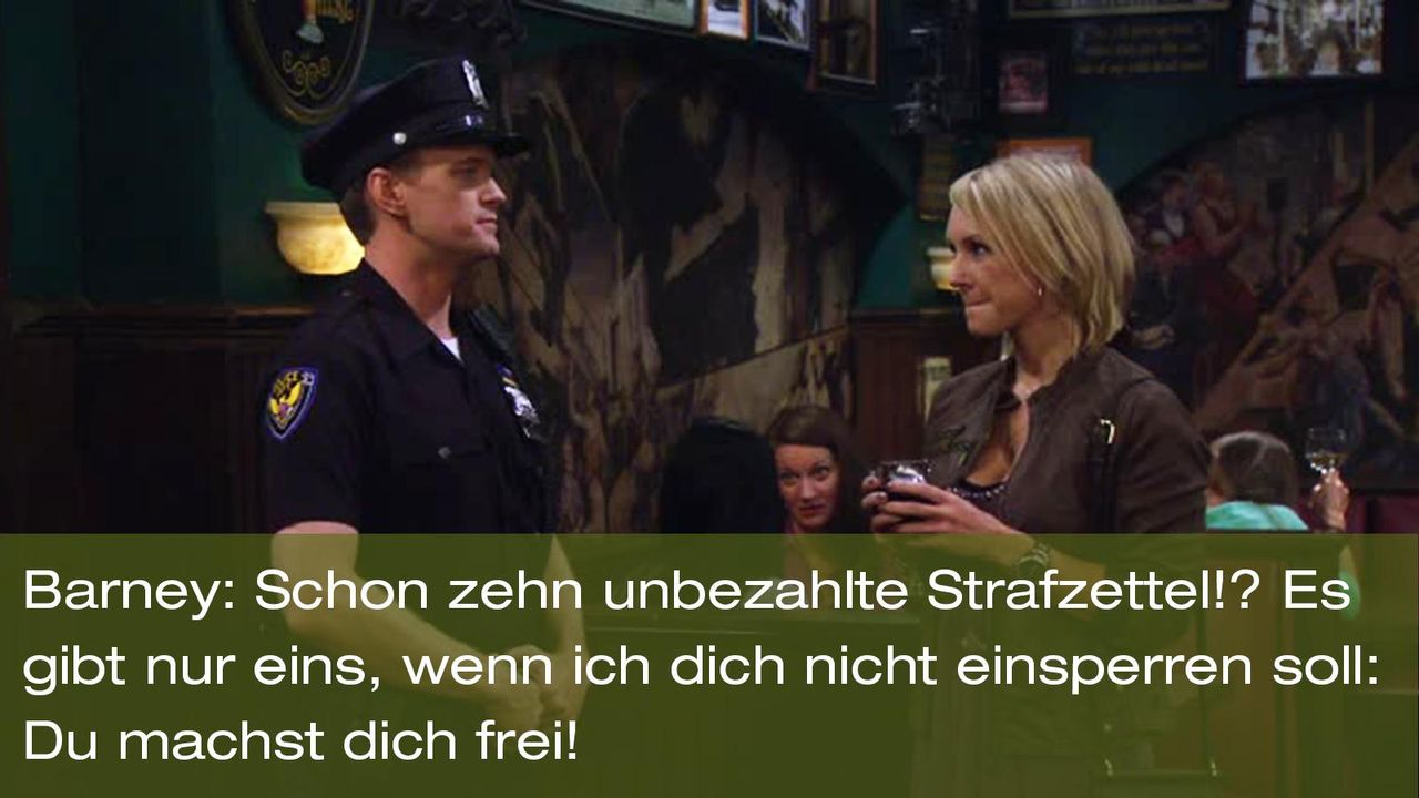 how-i-met-your-mother-zitat-quote-staffel-8-episode-3-nannies-super-nanny-2-barney-foxpng 1600 x 900 - Bildquelle: 20th Century Fox