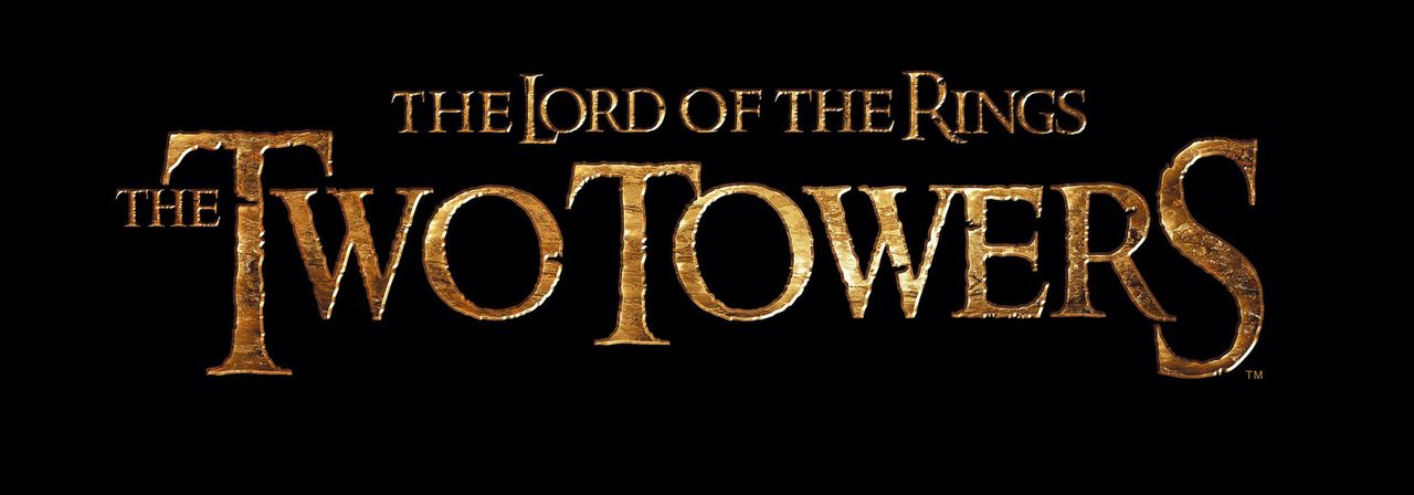 """The Lord of the Rings: The Two Towers"" - Originaltitel-Logo ... - Bildquelle: Warner Brothers"