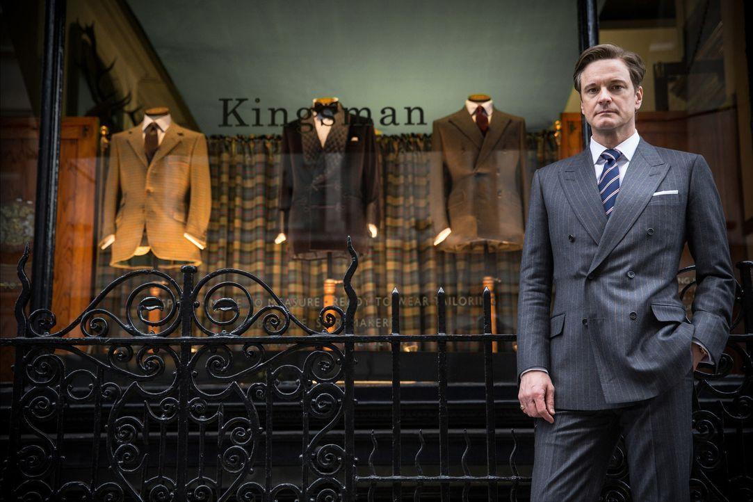 Harry Hart (Colin Firth) ist ein britischer Geheimagent der alten Schule. Er arbeitet für einen der geheimsten Nachrichtendienste überhaupt: die Kin... - Bildquelle: 2015 Twentieth Century Fox Film Corporation. All rights reserved.