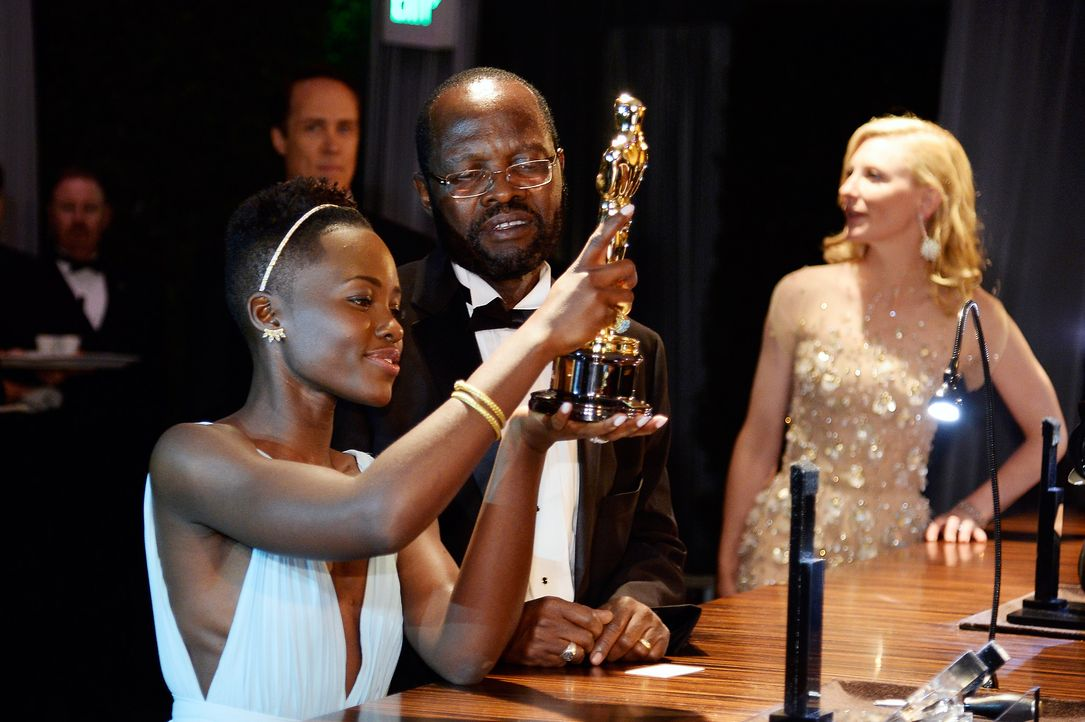 Oscars-Governors-Ball-Lupita-Nyongo-140302-1-getty-AFP - Bildquelle: getty-AFP