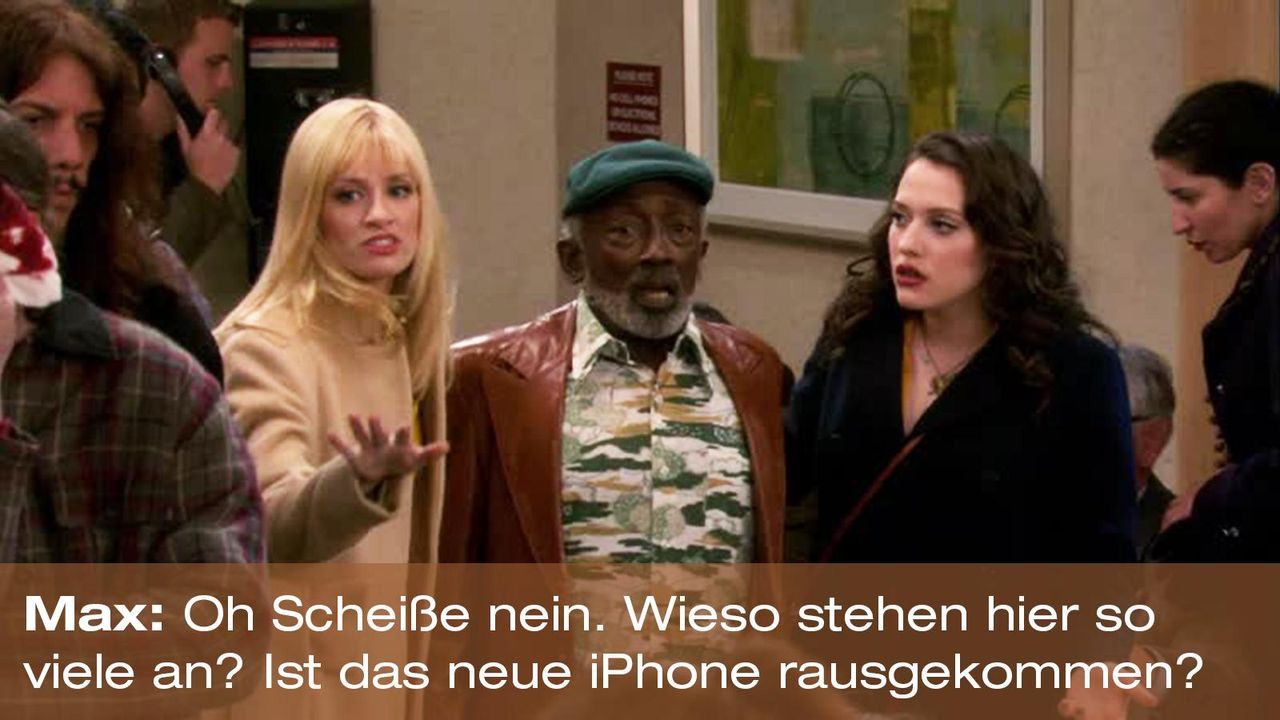 zitat-quote-spruch-2-broke-girls-episode-16-gebrochene-herzen-max-iphone-foxpng 1600 x 900 - Bildquelle: Warner Brothers Entertainment Inc.