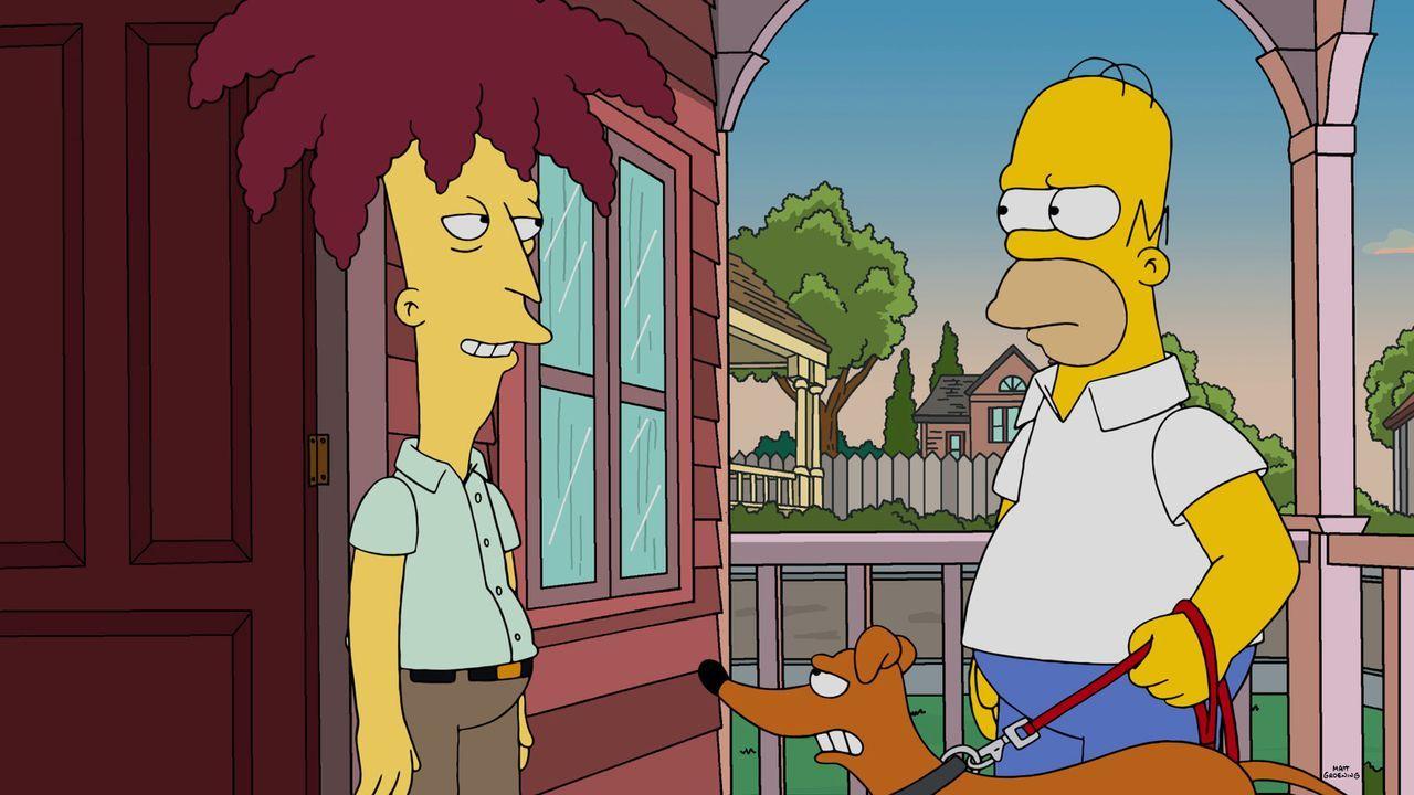 Tingeltangel-Bob (l.) gelingt es, was er ein Vierteljahrhundert lang versucht hat, er schafft es, Bart zu töten, nur um ihn wieder zum Leben zu erwe... - Bildquelle: 2015 Fox and its related entities.  All rights reserved.