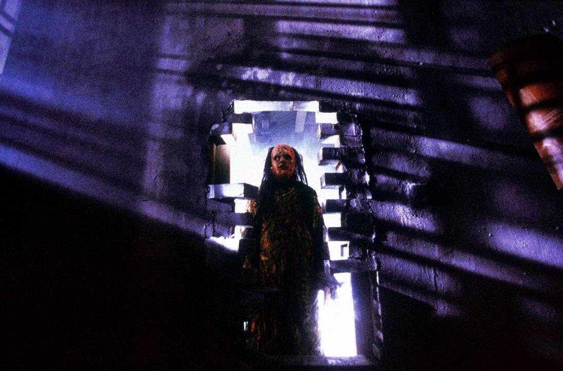 Im 19. Jahrhundert in China schreckt ein böser Mönch ein Nest blutrünstiger Vampire auf, die alles menschliche Leben verschlingen wollen ... - Bildquelle: Columbia TriStar