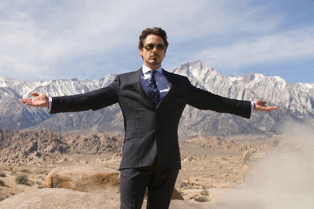 Tony Stark (Robert Downey Jr.) ist ein Multimillionär, Genie, Playboy und Sohn eines erfolgreichen Rüstungsindustriellen, doch nach einem Überfall b... - Bildquelle: 2008 MVL Film Rinance LLC. All Rights reserved.