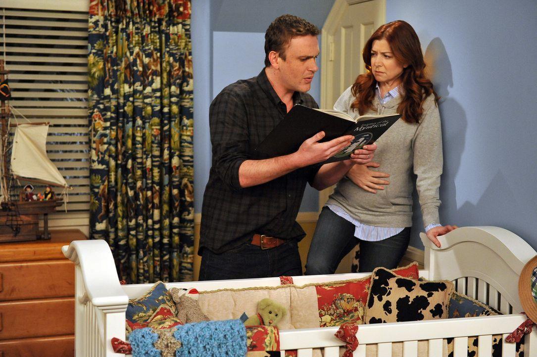 Richten ihr Kinderzimmer ein: Lily (Alyson Hannigan, r.) und Marshall (Jason Segel, l.) ... - Bildquelle: 20th Century Fox International Television