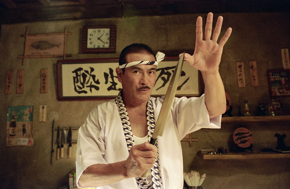 Hattori Hanzo (Sonny Chiba) hatte einst den Eid abgelegt, nie wieder eines seiner berühmten Schwerter anzufertigen. Doch eines Tages bricht er sein... - Bildquelle: Miramax Films/Dimension Films. All Rights Reserved.
