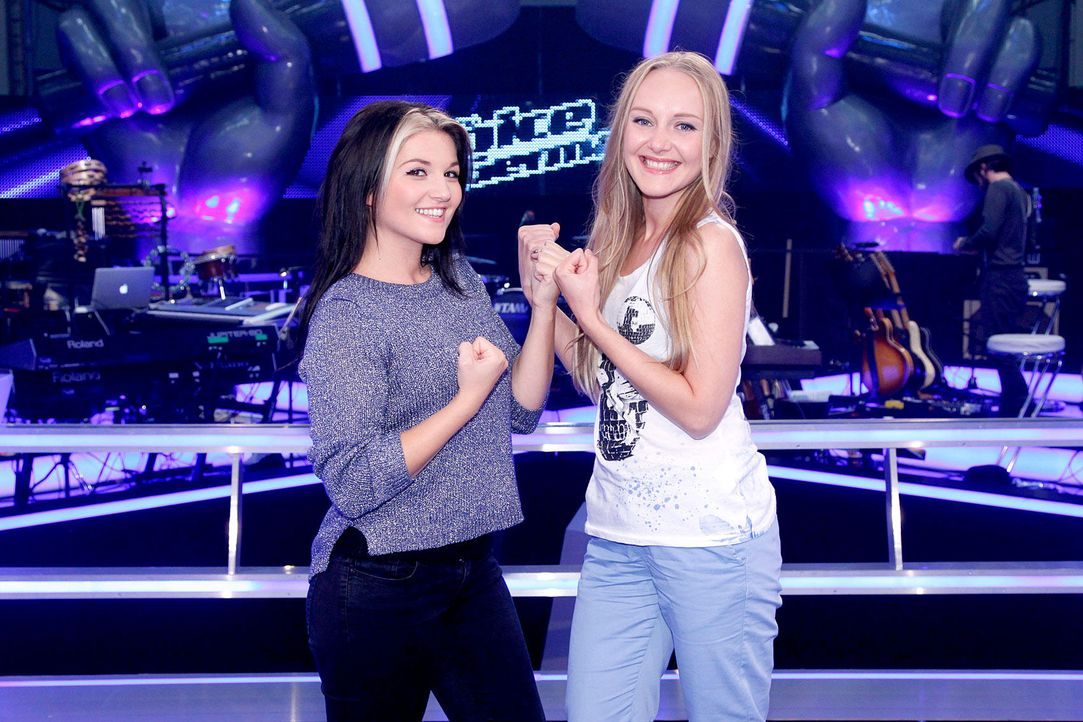 battle-lida-vs-mel-07-the-voice-of-germany-richard-huebnerjpg 1700 x 1133 - Bildquelle: SAT.1/ProSieben/Richard Hübner