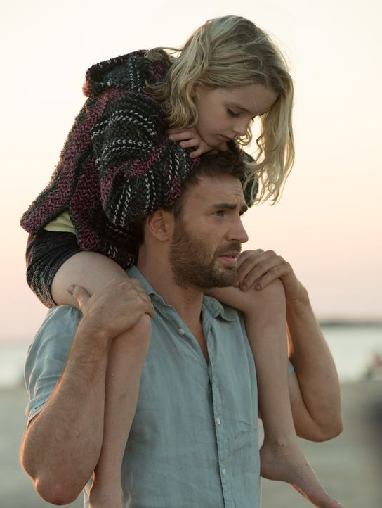 Frank Adler (Chris Evans, unten); Mary Adler (Mckenna Grace, oben) - Bildquelle: 2017 Twentieth Century Fox Film Corporation. All rights reserved.