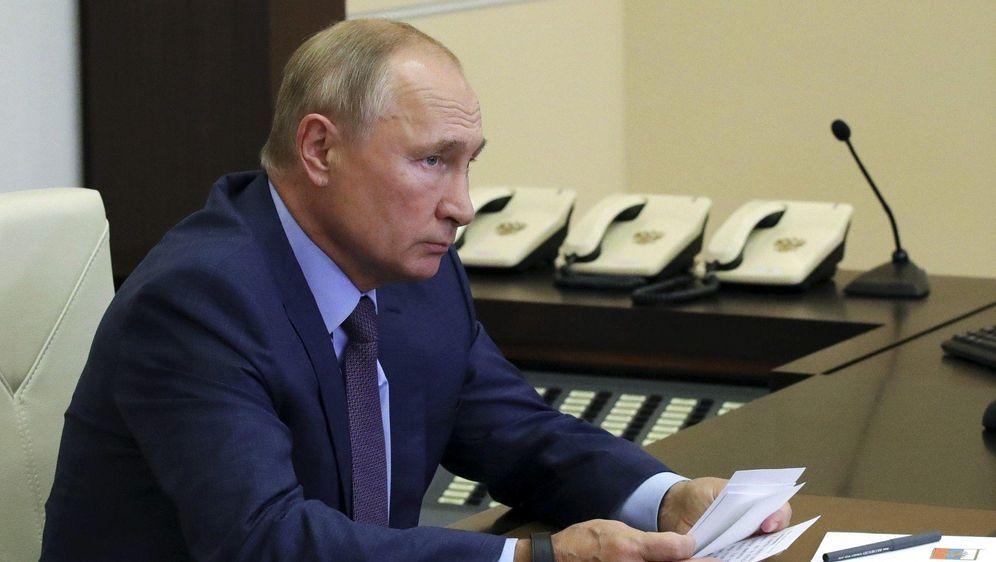 - Bildquelle: Mikhail Klimentyev/Pool Sputnik Kremlin/dpa
