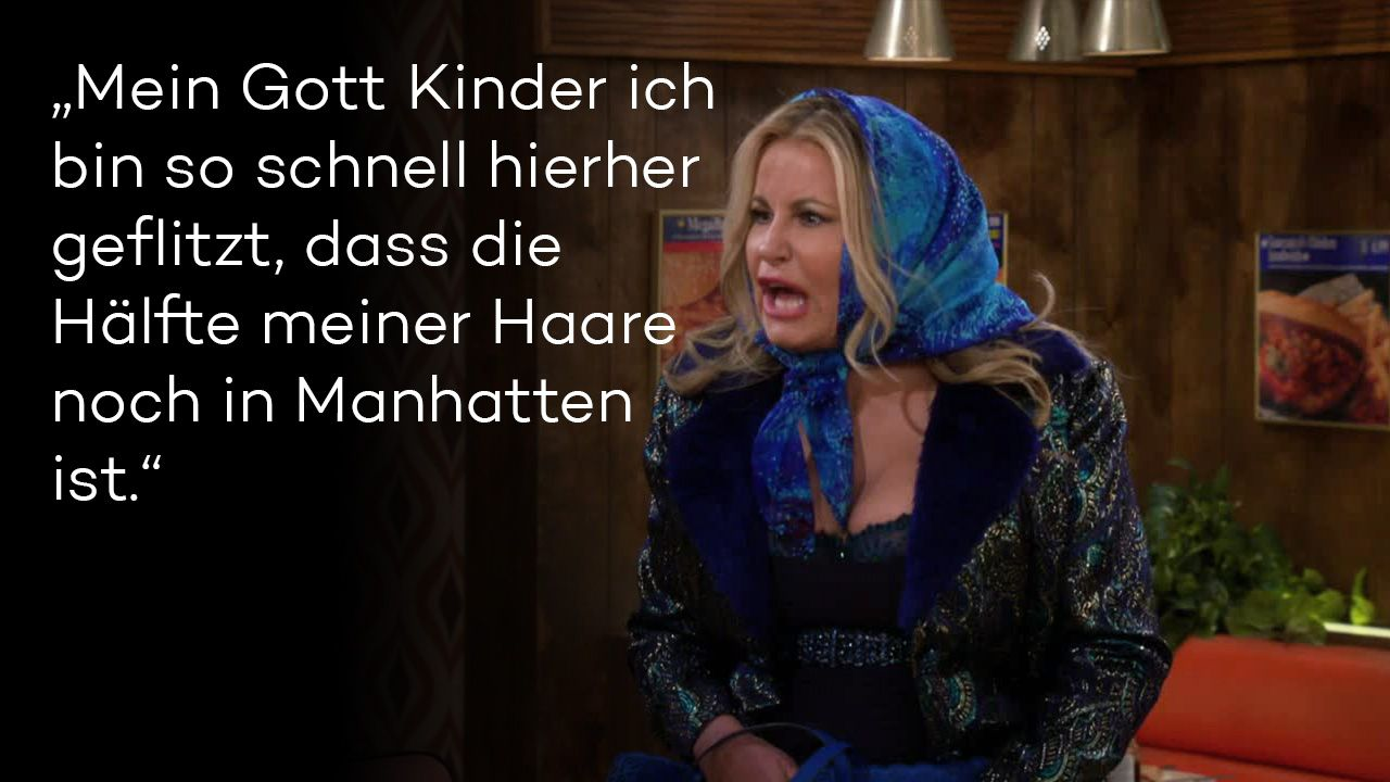 "Zitate aus ""2 Broke Girls"" Staffel 5 - Bild 1 - Bildquelle: Warner Brothers"