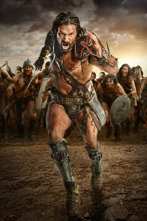 Will nie mehr vor den Römern fliehen und zieht deshalb mit etlichen Sklaven gegen Rom: Crixus (Manu Bennett) ... - Bildquelle: 2012 Starz Entertainment, LLC. All rights reserved.