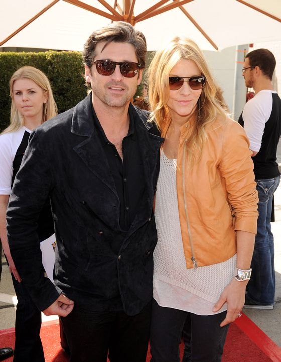 Patrick-Dempsey-Jillian-Fink-110313-getty-AFP - Bildquelle: getty-AFP