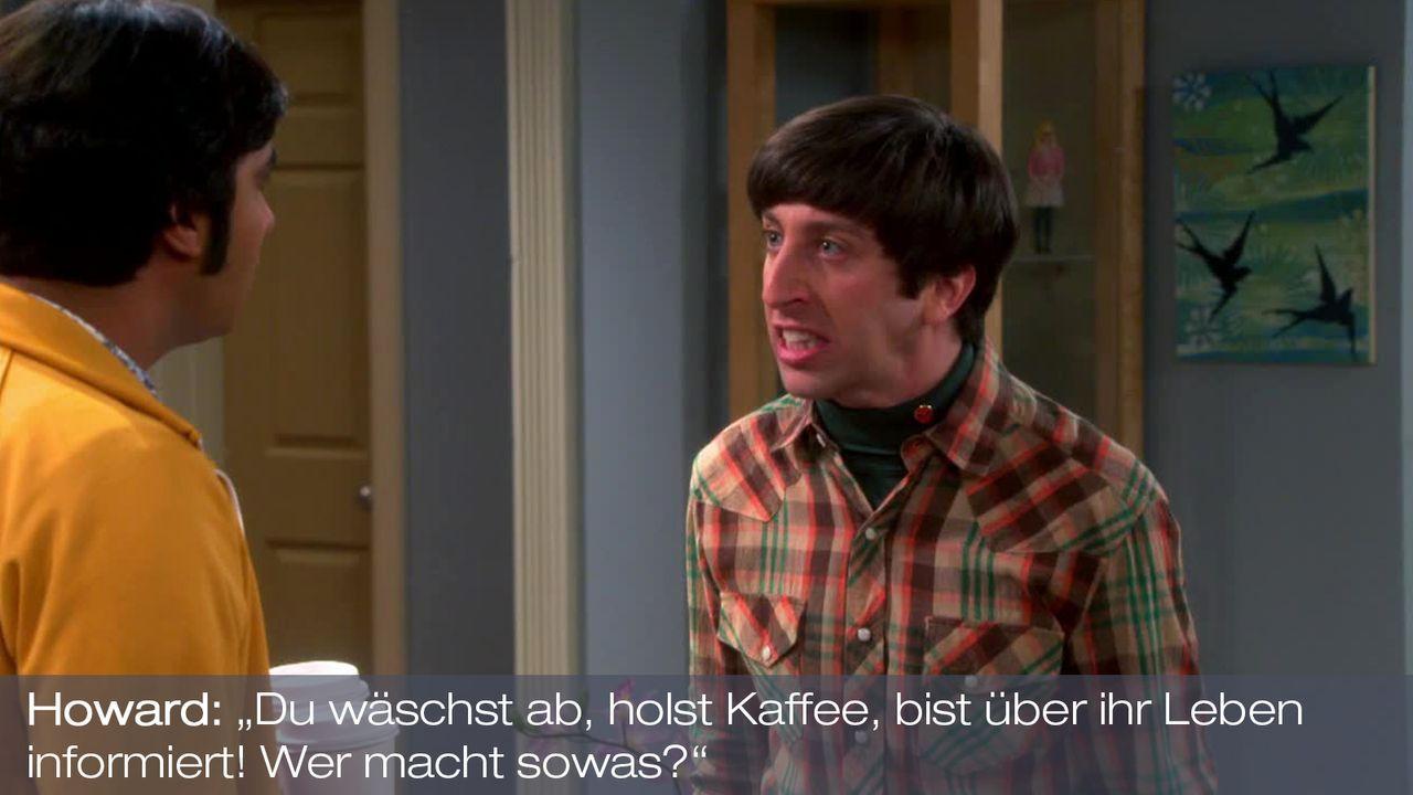 Staffel 7 Folge 10 - Zitat 8 - Bildquelle: Warner Bros. Television