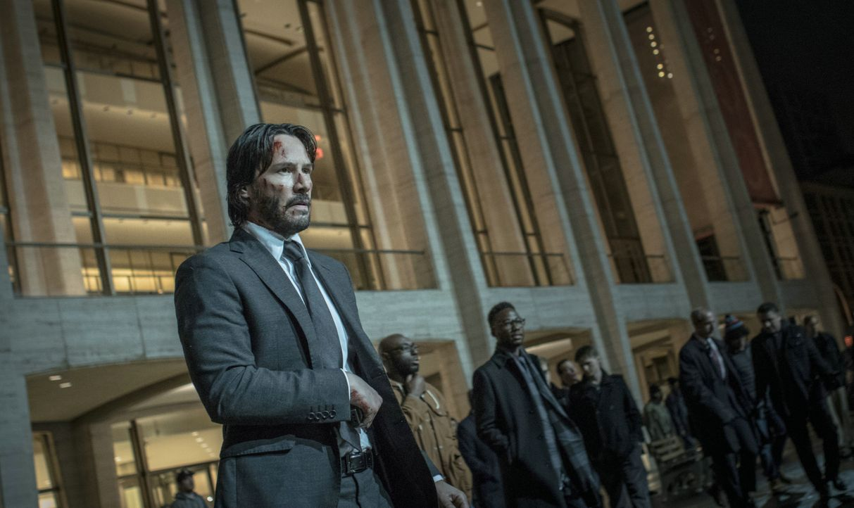 John Wick (Keanu Reeves) - Bildquelle: 2017 Concorde Filmverleih GmbH