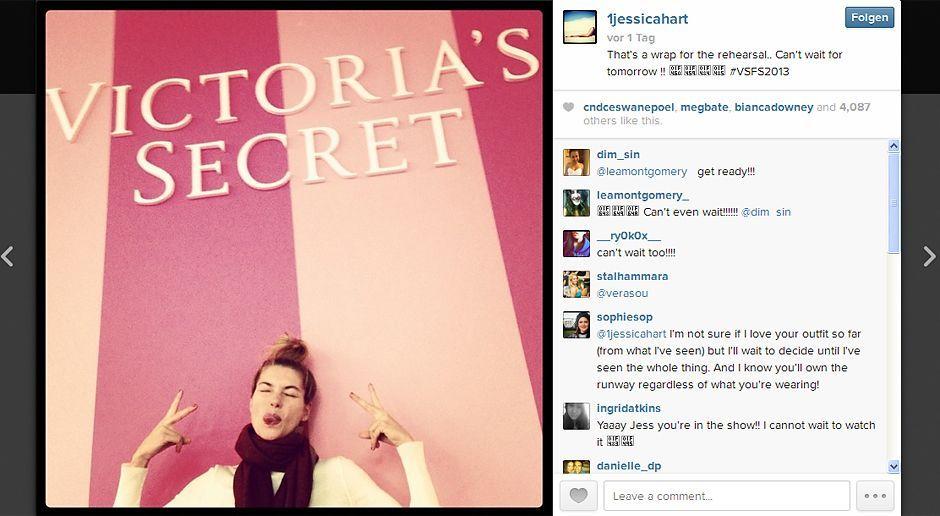 VS-Instagram-13-Instagram - Bildquelle: Instagram/Jessica Hart