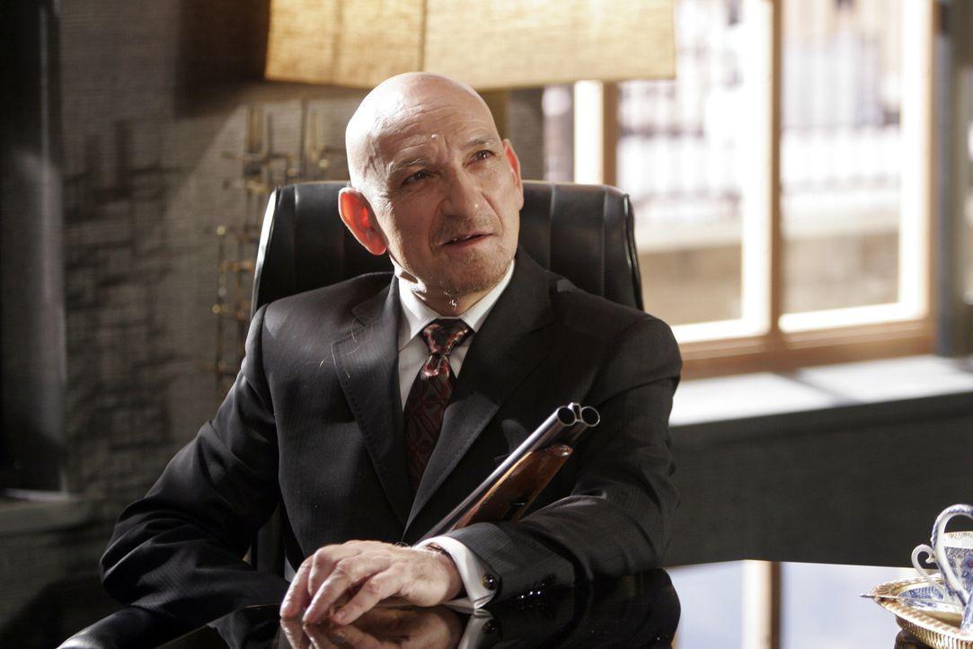 """Der paranoide Gangsterboss """"Der Rabbi"""" (Ben Kingsley) hetzt seine Meute auf den harmlosen Slevin ... - Bildquelle: Metro-Goldwyn-Mayer (MGM)"""