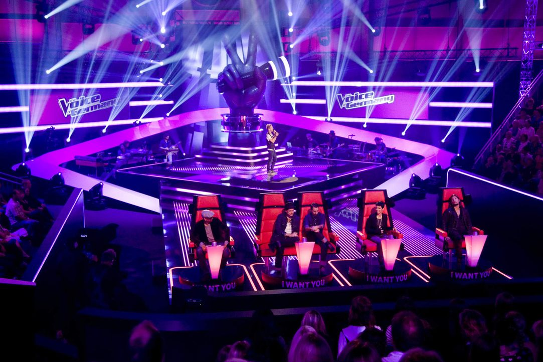 "Xavier Naidoo (l.), THE BOSSHOSS (2.v.l.), Nena (2.v.r.), Rea Garvey (r.) suchen ""The Voice of Germany""! In den ""Blind Auditions"" können die Talent... - Bildquelle: SAT.1/ProSieben"