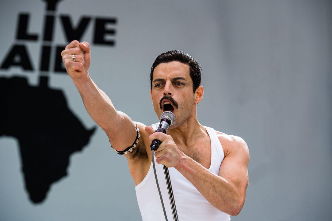 Freddie Mercury (Rami Malek) - Bildquelle: Alex Bailey 2018 Twentieth Century Fox Film Corporation.  All rights reserved. / Alex Bailey