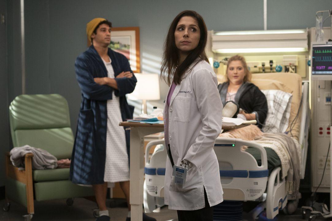 Dr. Lauren Riley ( Shoshannah Stern, Mitte) - Bildquelle: Ali Goldstein 2019 American Broadcasting Companies, Inc. All rights reserved. / Ali Goldstein
