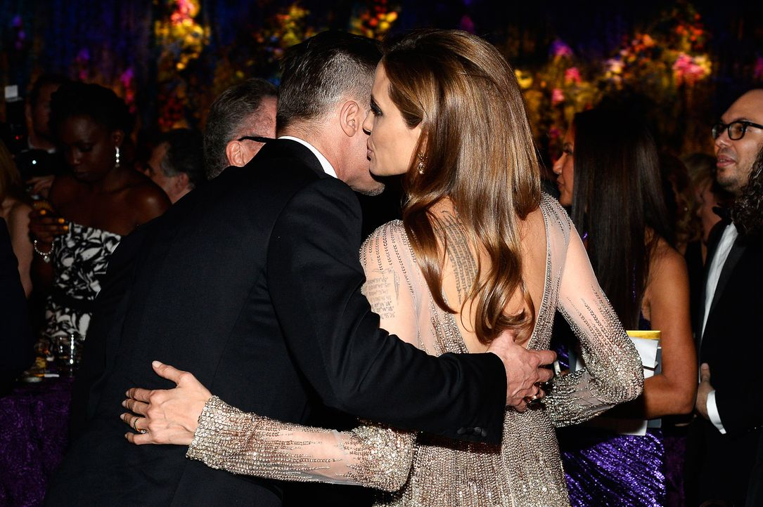 Oscars-Governors-Ball-Brad-Pitt-Brad-Angelina-Jolie-140302-getty-AFP - Bildquelle: getty-AFP