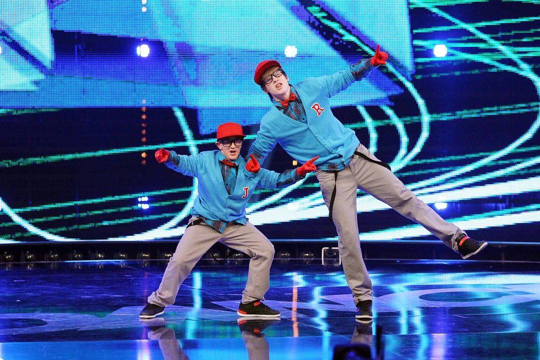 Got-To-Dance-Ricardo-und-Janik-08-SAT1-ProSieben-Guido-Engels - Bildquelle: SAT.1/ProSieben/Guido Engels