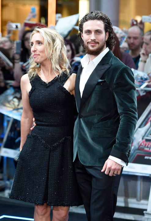 The-Avengers-Age-of-Ultron-Aaron-Sam-Taylor-Johnson-15-04-21-dpa - Bildquelle: dpa