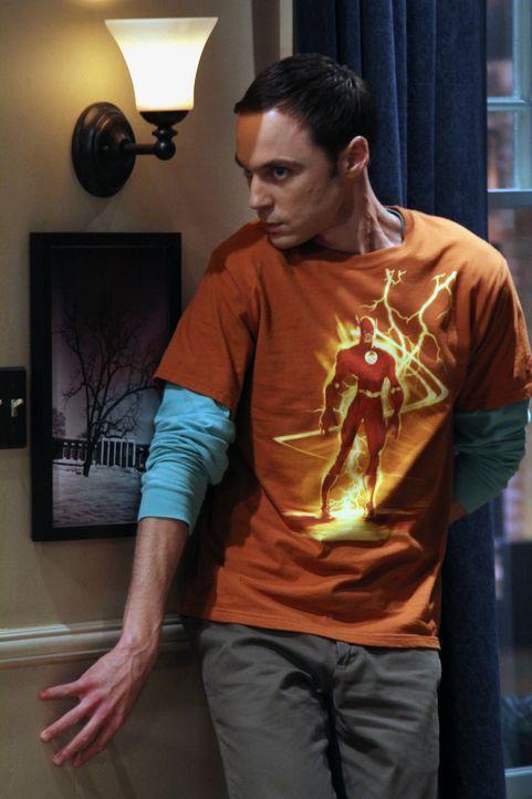 Amy will, dass Sheldon (Jim Parsons) ihre Mutter kennenlernt. Da er davon ausgehen muss, dass Amy doch eine feste Beziehung möchte, versucht er, ihr... - Bildquelle: Warner Brothers