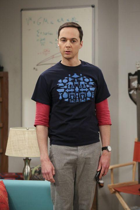 Eine Hochzeit ohne seine Mutter? Für Sheldon (Jim Parsons) unvorstellbar ... - Bildquelle: Warner Bros. Television
