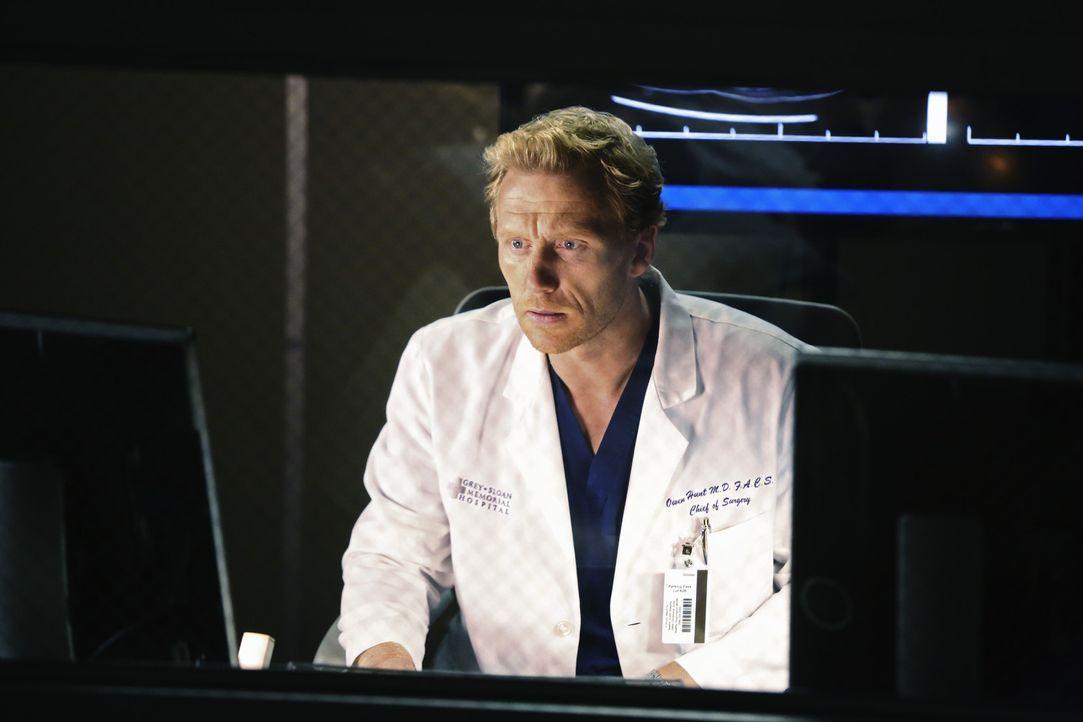 Owen (Kevin McKidd) versucht stetig damit klar zu kommen, dass Cristina das Krankenhaus verlassen hat und in die Schweiz gezogen ist ... - Bildquelle: ABC Studios