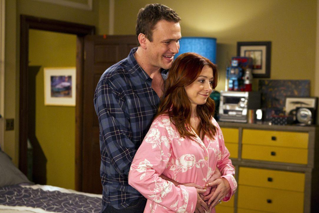 Stellen fest, dass ihr Partner sie jeweils an einen Elternteil von ihnen erinnert: Marshall (Jason Segel, l.) und Lily (Alyson Hannigan, r.) ... - Bildquelle: 20th Century Fox International Television