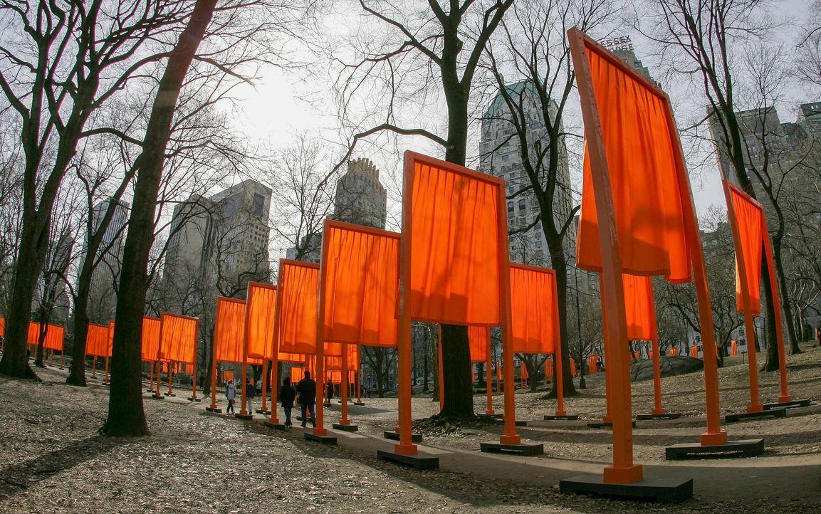 The Gates, Central Park, New York, 2005 - Bildquelle: picture alliance / Snowfield Photography   Ralf Ibing