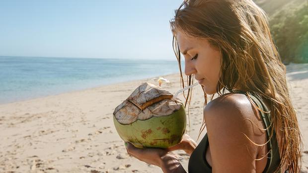 Haarpflege mit Kokosnussöl - denn diese enthält reichlich Vitamin E