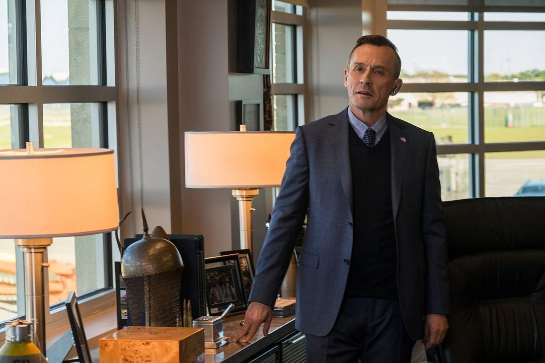 Welche Rolle spielt General Harkness (Robert Knepper) in der Verschwörung gegen Jack Reacher und Major Susan Turner? - Bildquelle: David James 2016 PARAMOUNT PICTURES.  ALL RIGHTS RESERVED.