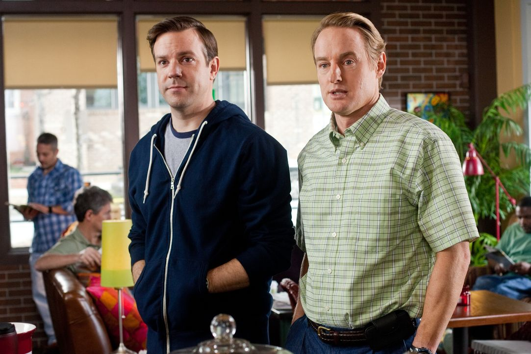 Fred (Jason Sudeikis, l.); Rick (Owen Wilson, r.) - Bildquelle: Warner Bros.