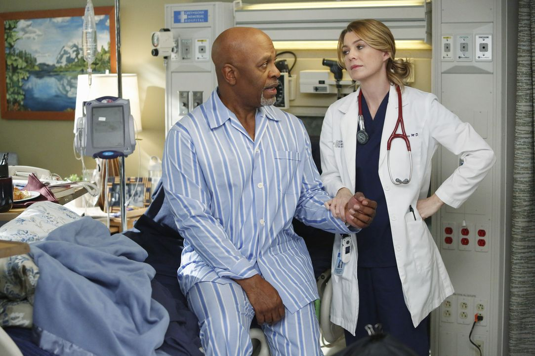 Ob es noch Hoffnung auf eine vollständige Genesung von Dr. Webber (James Pickens Jr., l.) gibt, wird sich in der nächsten Untersuchung von Meredit... - Bildquelle: ABC Studios