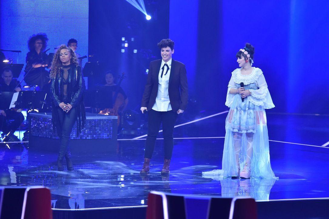 TVOG2018_Halbfinale_Jessica,Diana,Rahel - Bildquelle: ProSieben/SAT.1/Andre Kowalski
