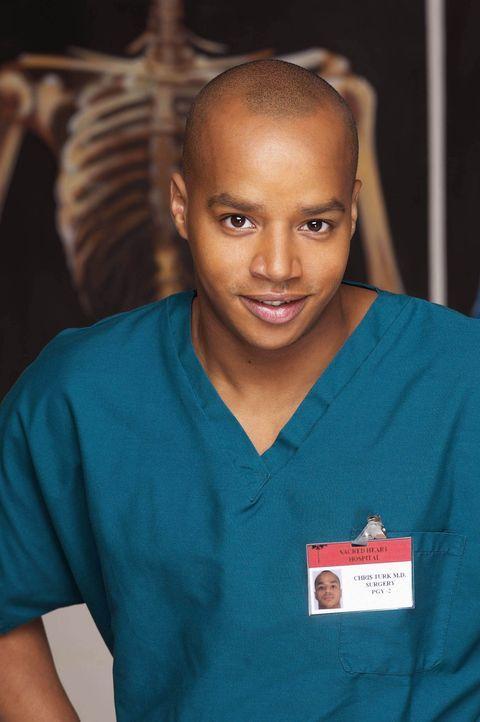 (3. Staffel) - Neurotische Patienten setzen immer wieder Turk (Donald Faison) gewaltig zu ... - Bildquelle: Touchstone Television