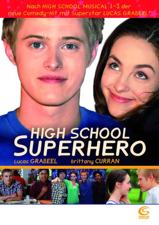 HIGH SCHOOL SUPERHERO - Plakatmotiv