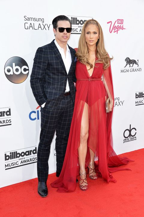 Billboard-Music-Awards-Jennifer-Lopez-Casper-Smart-14-05-18-getty-AFP - Bildquelle: getty-AFP