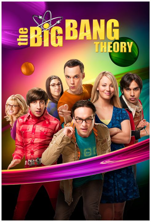 (8. Staffel) - The Big Bang Theory: Bernadette (Melissa Rauch, l.), Howard (Simon Helberg, 2.v.l.), Amy (Mayim Bialik, 3.v.l.), Sheldon (Jim Parsons... - Bildquelle: Warner Bros. Television