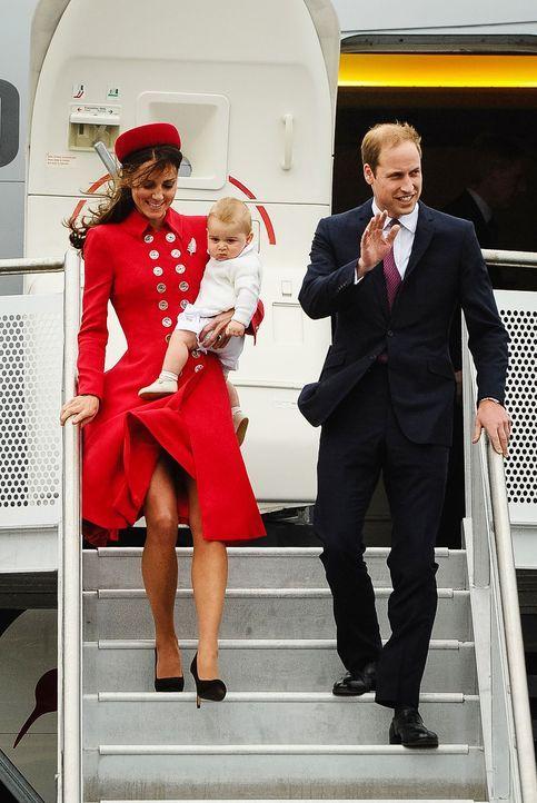 Prinz-William-Catherine-George-Neuseeland-14-04-07-1-AFP - Bildquelle: AFP