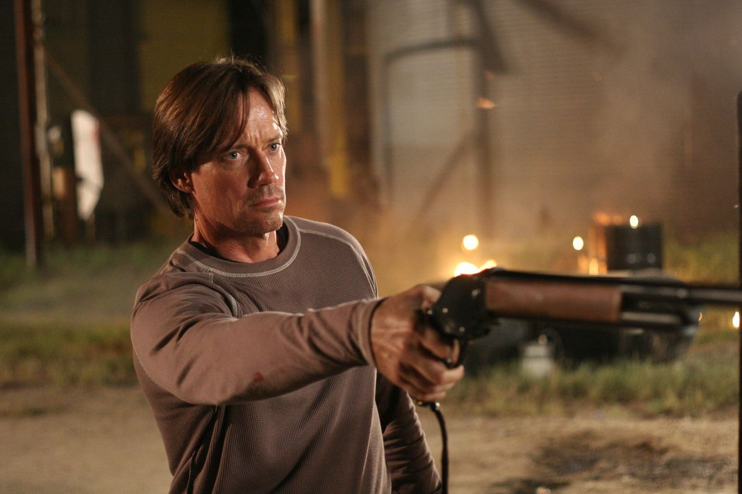 Nimmt die Gerechtigkeit selbst in die Hand: Nick Prescott (Kevin Sorbo) ... - Bildquelle: 2007 Metro-Goldwyn-Mayer Home Entertainment LLC and Sony Pictures Home Entertainment Inc. All Rights Reserved.
