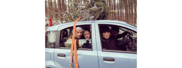 Postillion-Weihnachtsbaum