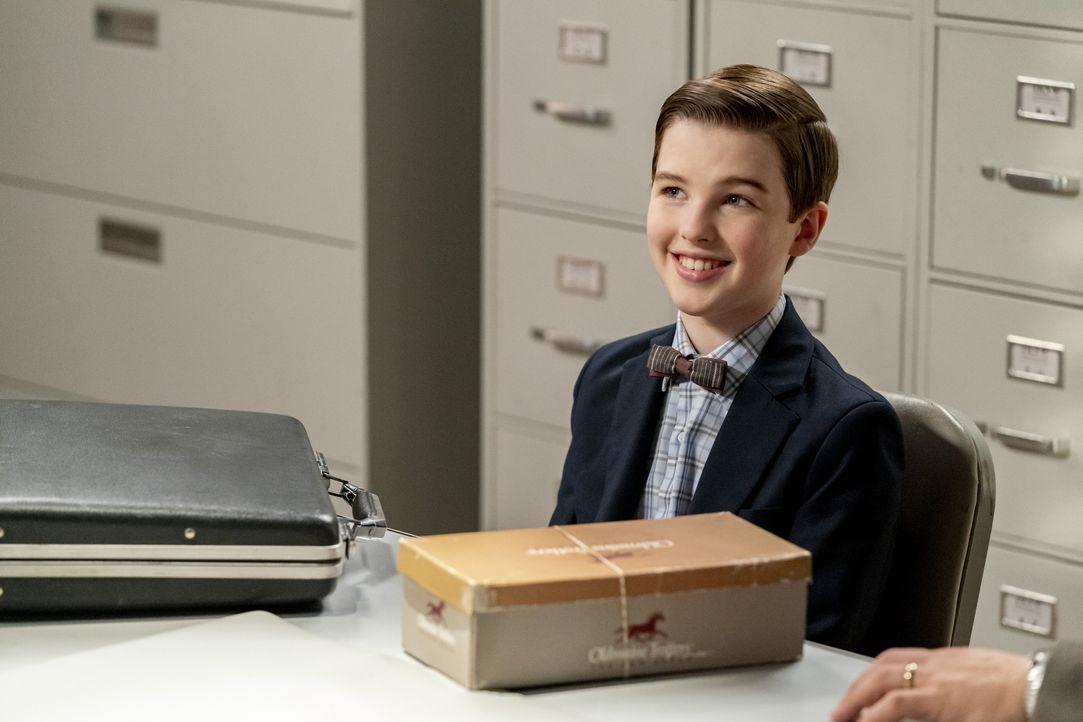 Sheldon Cooper (Iain Armitage) - Bildquelle: 2020 Warner Bros. Entertainment Inc. All Rights Reserved.