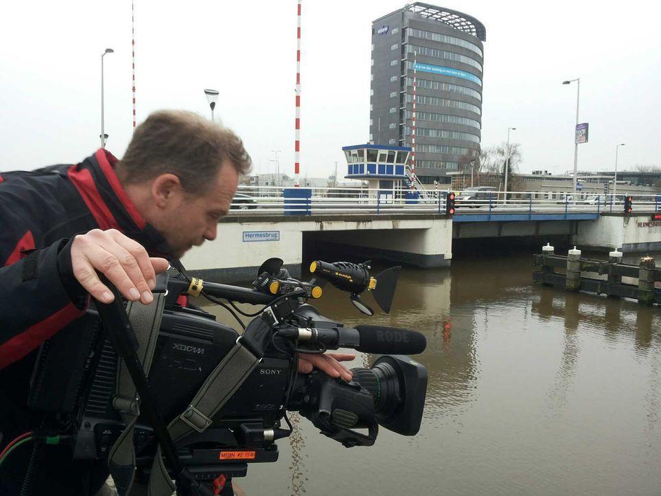 Kameramann Carsten und die Hermesbrücke