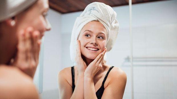 Achte auf eine schonende Hautpflege!