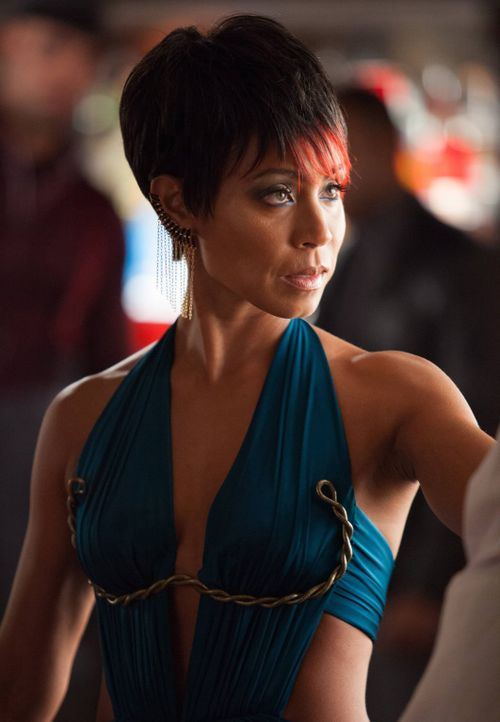Treibt in Gotham ihr Unwesen: Fish Mooney (Jada Pinkett Smith) ... - Bildquelle: Warner Bros. Entertainment, Inc.